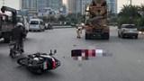 Va chạm với xe bồn, 2 người phụ nữ đi xe máy tử vong
