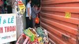 Kinh hãi thùng xe container rơi đè chết người