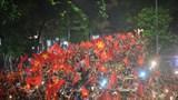 Phân luồng một loạt tuyến phố phục vụ 2 trận bóng đá của Đội tuyển Việt Nam
