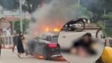 Vụ tai nạn trên cầu Hoà Mục: Danh tính người phụ nữ lái chiếc GLC