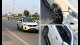 Quận Long Biên: Ô tô KIA Sorento gây tai nạn liên hoàn rồi bỏ chạy