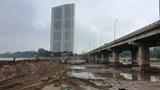 Hà Nội: Lắp dầm cầu qua hồ Linh Đàm trước Tết Nguyên đán