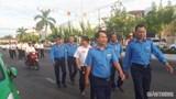 """Hàng ngàn người đi bộ kêu gọi """"Đã uống rượu, bia - Không lái xe"""" ở Cà Mau"""