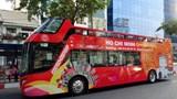 TP Hồ Chí Minh: Từ 15/1 đưa vào sử dụng xe du lịch hai tầng mui trần
