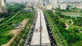 Cầu cạn Mai Dịch - Nam Thăng Long hoàn thành kế hoạch giải ngân năm 2019