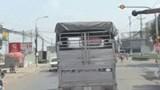 Tài xế xe tải bỏ mặc còi hú của xe cứu hỏa chữa cháy, quyết không nhường đường