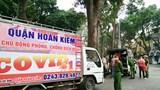 Công an quận Hoàn Kiếm xử phạt 4 trường hợp không đeo khẩu trang khi ra đường