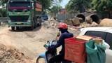 Mỹ Đức: Mất an toàn giao thông tại dự án thi công Cầu đập tràn Quan Sơn