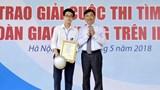 """24 học sinh nhận giải Cuộc thi """"Vì An toàn giao thông Thủ đô"""" trên internet"""