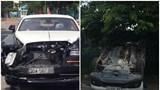 """Siêu xe Rolls-Royce """"nát đầu"""" sau va chạm với xe Honda CRV"""