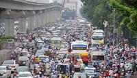 Hà Nội: Chỉ số chất lượng không khí các điểm giao thông tăng cao, 3/10 khu vực ở mức kém
