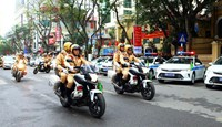 Huy động hơn 2.000 cảnh sát đảm bảo an ninh, trật tự trận Việt Nam và Philippines
