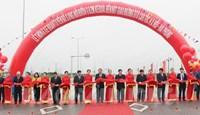 Thông xe đoạn tuyến nối đường 62 m kéo dài với cao tốc Hà Nội - Hải Phòng