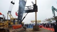 Khởi công xây dựng cầu Cửa Hội nối đôi bờ sông Lam