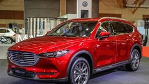 Xe 7 chỗ Mazda CX-8 lắp ráp trong nước, bán ra từ tháng 6