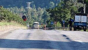 Nghệ An: Hằn lún vệt bánh xe trên đoạn đường nghìn tỷ