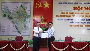 Tái khởi động dự án tuyến đường Miếu Môn - Hương Sơn