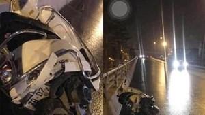 Tạm giữ nghi phạm lái xe Range Rover đâm chết 2 người đi xe máy trong đêm