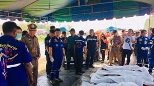 ĐSQ hỗ trợ đưa thi thể lao động Việt Nam tử nạn ở Thái Lan về nước