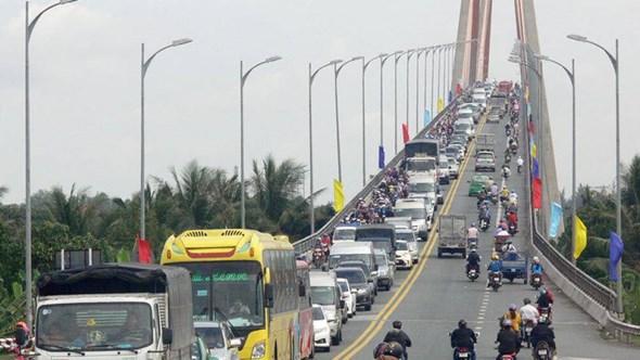 Cầu Rạch Miễu hiện đang quá tải nên cấp thiết phải đầu tư thêm cầu Rạch Miễu 2