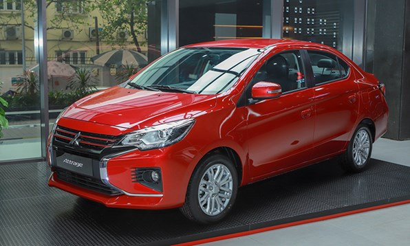 Giá xe ôtô hôm nay 19/6: Mitsubishi Attrage có giá 375 - 460 triệu đồng