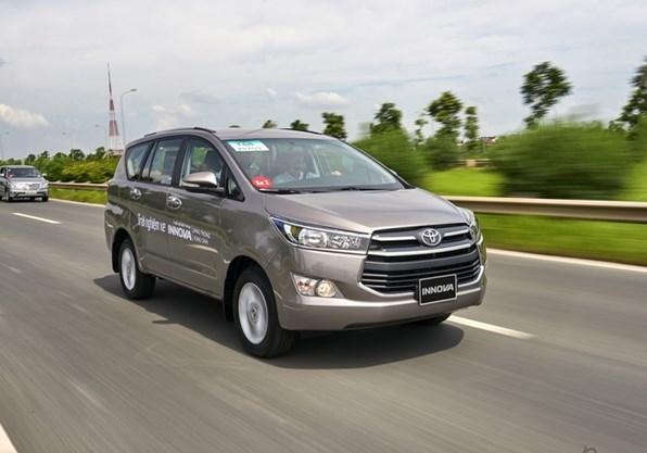 Giá xe ôtô hôm nay 20/6: Toyota Innova ưu đãi 40 triệu đồng