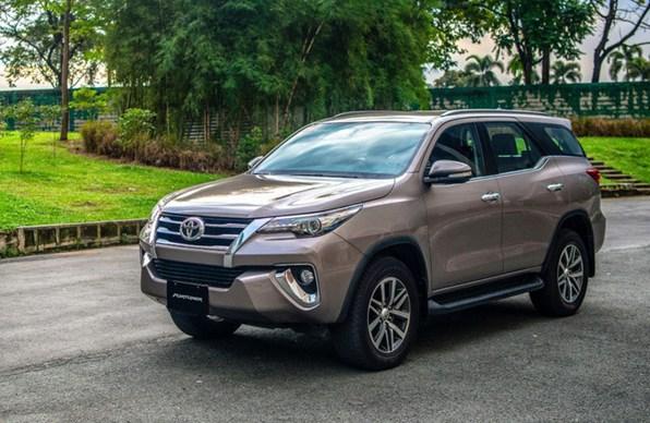Giá xe ôtô hôm nay 27/7: Toyota Fortuner dao động từ 1,033 - 1,354 tỷ đồng