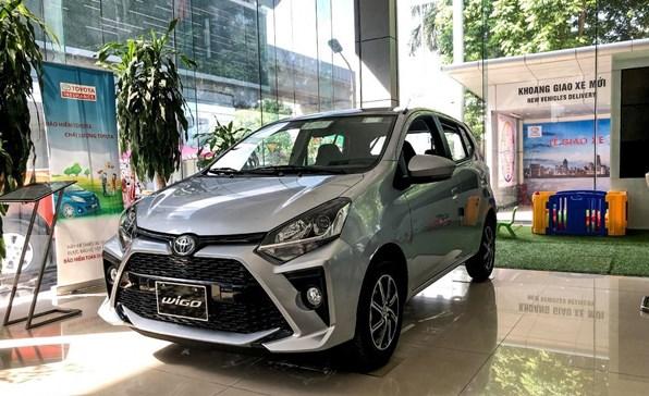 Giá xe ôtô hôm nay 6/10: Toyota Wigo dao động từ 352 - 384 triệu động