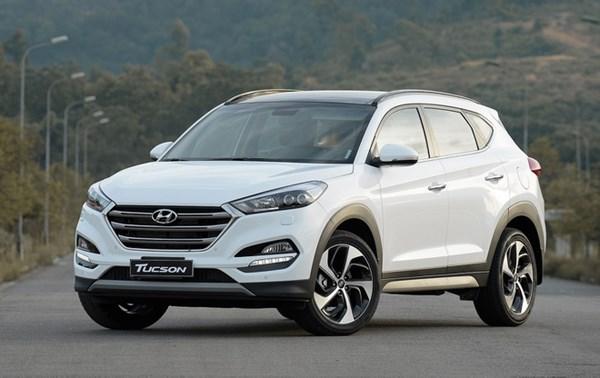 Hyundai Tucson bị triệu hồi