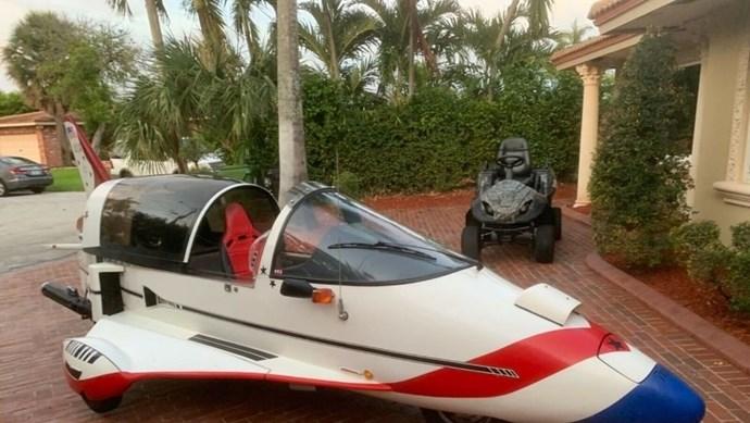 Chiếc xe giống máy bay phản lực kỳ dị nhất thế giới