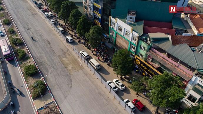 Hà Nội: Cận cảnh tuyến đường luôn trong tình trạng ùn tắc