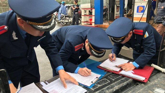 Sau làm việc với công an, 6 cán bộ, nhân viên Thanh tra Sở GTVT trở lại làm việc bình thường