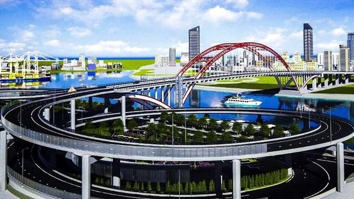 Hải Phòng hợp long cầu Hoàng Văn Thụ