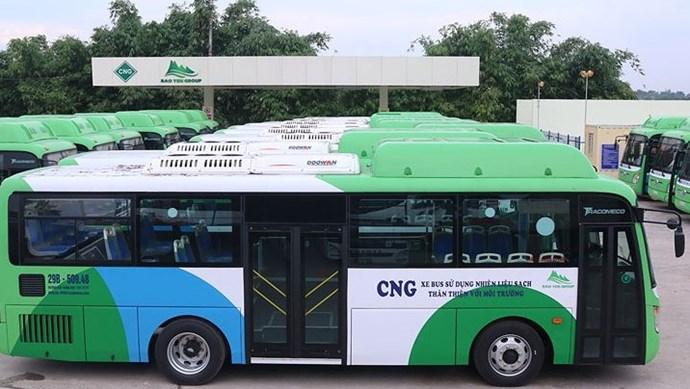 Hà Nội: Lộ trình 4 tuyến buýt mới sử dụng nhiên liệu sạch - khí CNG