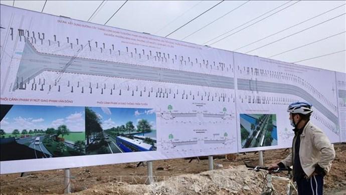 Bắc Từ Liêm ra quân thực hiện dự án xây dựng đường Tây Thăng Long
