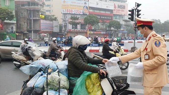 Phòng chống dịch Cocid-19: Làm thế nào để tham gia giao thông an toàn?