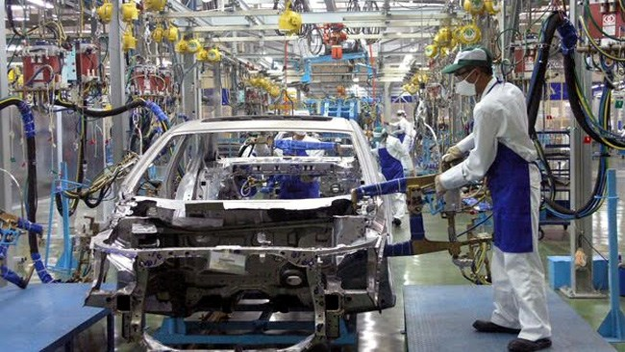 Kim ngạch nhập khẩu linh kiện ô tô gấp gần 3 lần xe nguyên chiếc