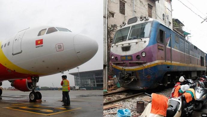 Hàng không, đường sắt chuyển hướng mùa Covid-19