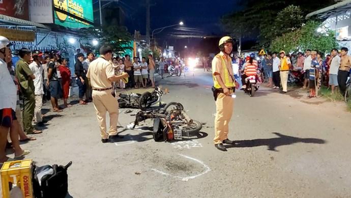 Bỏ đi sau va chạm giao thông, nam thanh niên tiếp tục tông vào xe khác dẫn đến tử vong