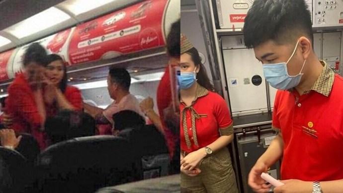 Nữ hành khách ném điện thoại vào tiếp viên bị cấm bay 12 tháng