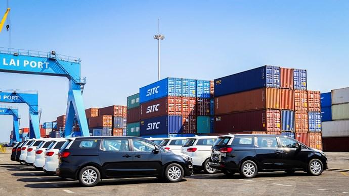 THACO tiếp tục xuất khẩu ô tô qua Thái Lan