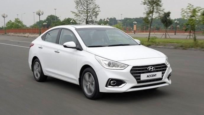 Giá xe ô tô hôm nay 12/7: Hyundai Accent dao động từ 426,1 - 542,1 triệu đồng