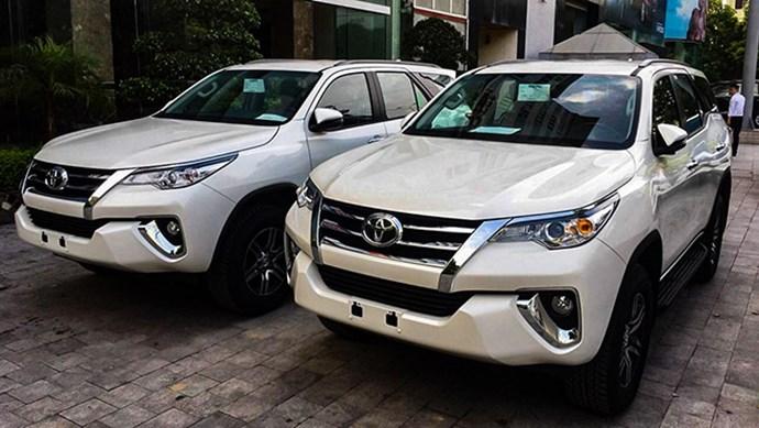 Toyota thu hồi 2 dòng xe Innova và Fortuner