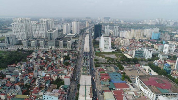 Hà Nội: Đề nghị bàn giao cầu cạn Vành đai 3, đoạn Mai Dịch - Nam Thăng Long