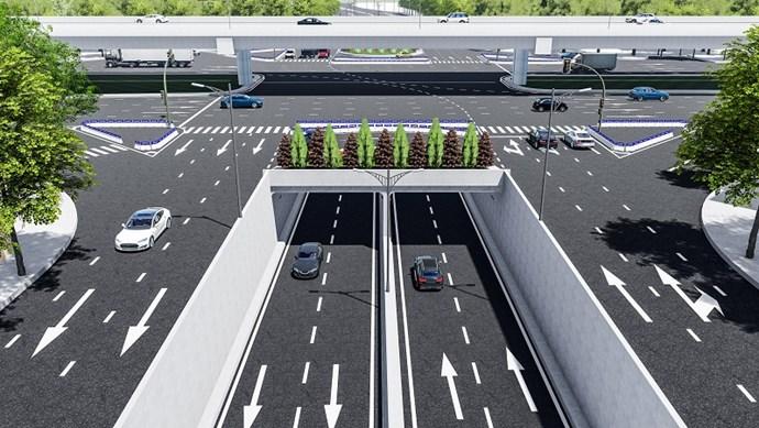 Hé lộ nhà thầu thi công xây dựng hầm chui Lê Văn Lương - Vành đai 3