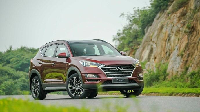 Giá xe ô tô hôm nay 24/9: Hyundai Tucson dao động từ 799-940 triệu đồng