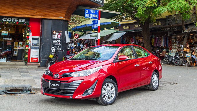 Giá xe ô tô hôm nay 1/10: Toyota Vios dao động từ 470 - 570 triệu đồng