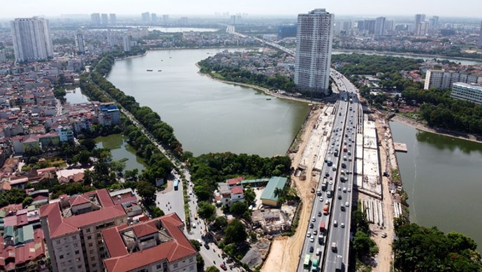 Hà Nội: Nhiều dự án giao thông trọng điểm về đích