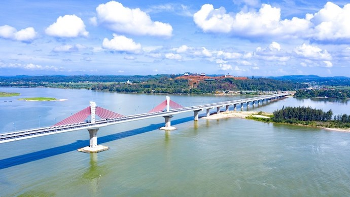 Thông xe kỹ thuật cầu hiện đại nhất Quảng Ngãi