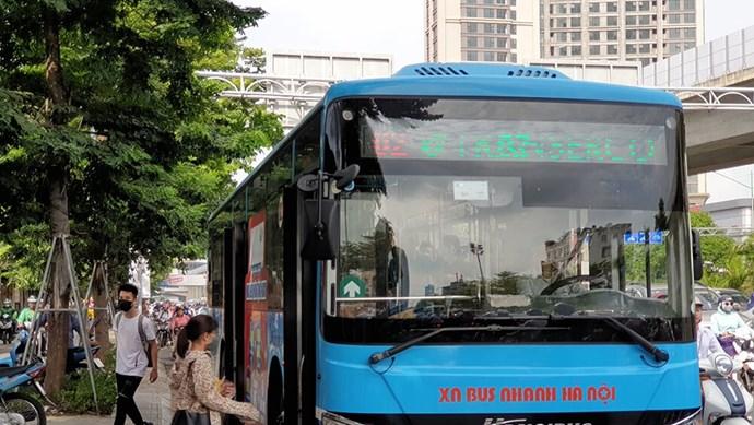Các tuyến xe buýt điều chỉnh lộ trình phục vụ Đại hội Đảng toàn quốc lần thứ XIII